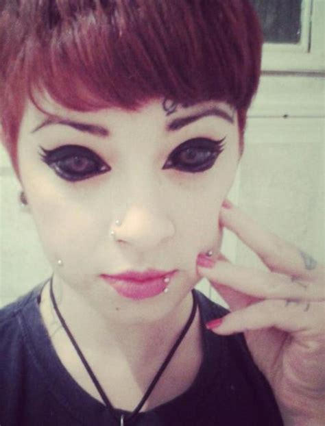tattoo eyeball pictures these 18 people have their eyeballs tattooed and it s the