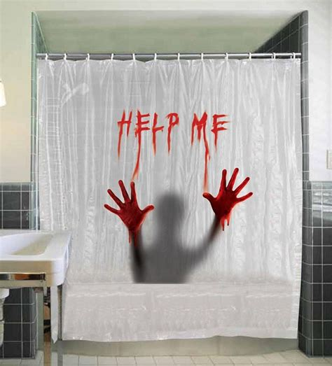 horror shower curtain 21 horror inspired shower curtains to creep up your home riot daily