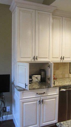 Kitchen Cabinet Appliance Garage by 25 Best Ideas About Appliance Garage On