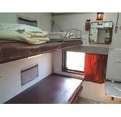 Rare First Class AC &amp 2 Tier Interiors BUILT IN 1 COACH Of