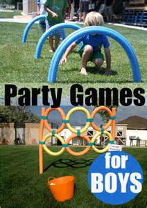 Backyard Olympic Games For Kids Party Games For Boys Awesome Diy Party Games For Boys And