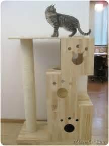 unique cat furniture diy cat tree plans