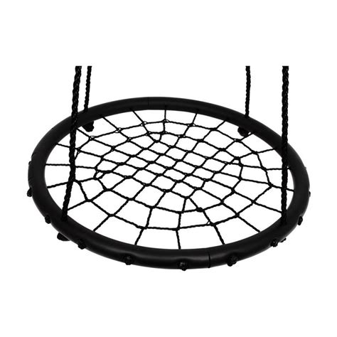 spider swing new childrens kids rope garden birds crows nest spider web