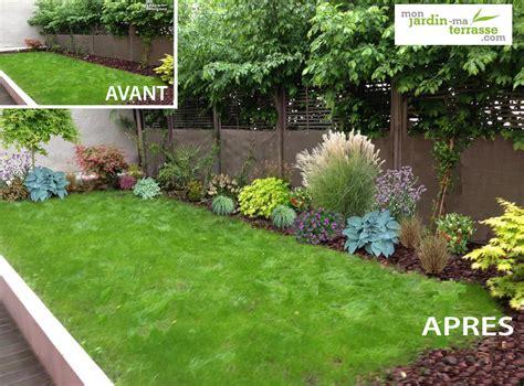 Creer Un Jardin Fleuri Toute L ée by Creer Un Massif Fleuri Toute L Annee Maison Design