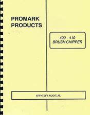 Promark Gravely 400 410 Brush Chipper Owner S Manual