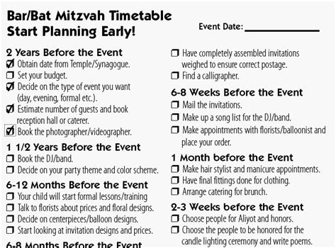 B Nai Mitzvah Guide Interactive Bar Bat Mitzvah And Wedding Planning Tools Bat Mitzvah Program Template