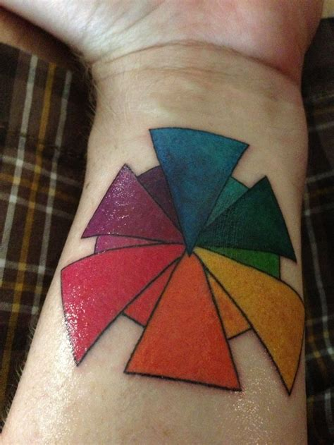 color wheel tattoo 80 best images about things that inspire on