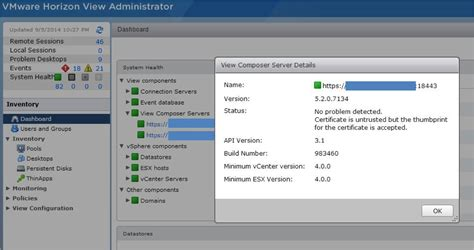 Find Blogs How To Find Composer Certificate In Vmware Horizon View