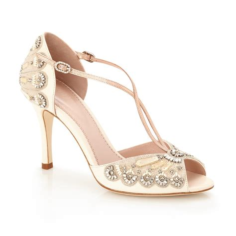 Blush Bridal Heels by Glamorous Blush High Heel Bridal Shoe Emmy