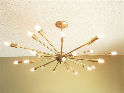 contemporary chandeliers that can put any room d 233 cor over the top large 24 arm sputnik light atomic mid century starburst