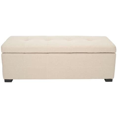 bench online shopping safavieh maiden taupe brown storage bench shop your