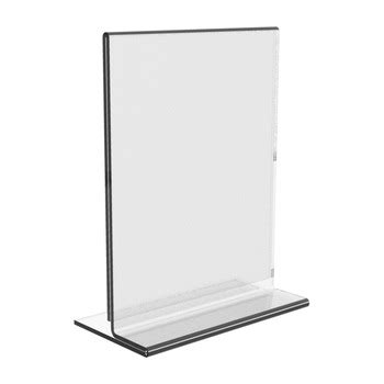 Display Acrylic A4 Horizontal a3 a4 a5 acrylic vertical horizontal sign holder menu stand buy a3 a4 a5 acrylic vertical