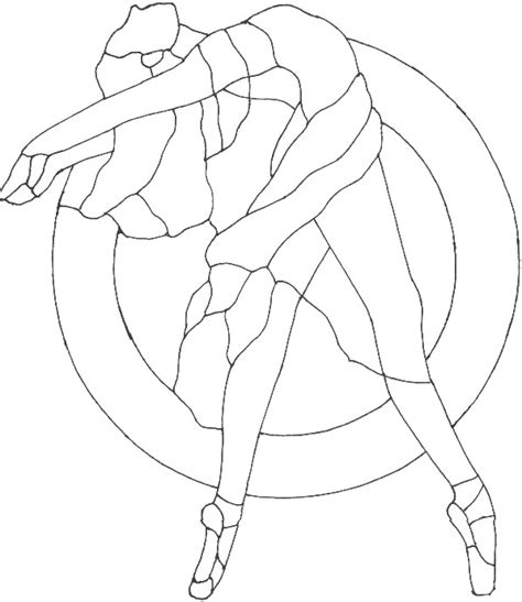 Ballet Coloring Ballerina Colouring Pages