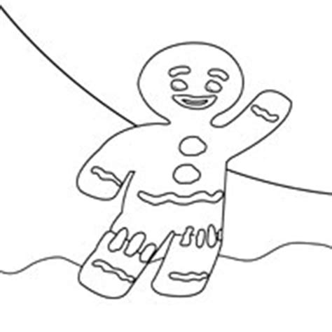 gingerbread man shrek coloring page shrek 187 coloring pages 187 surfnetkids