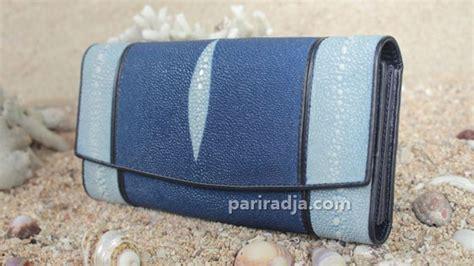 Dompet Kartu Model Lipat Kulit Sapi Asli Warna Card Wallet 2 dompet wanita kulit ikan pari mix pari duri lipat 3 biru
