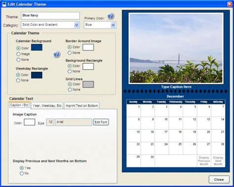 Create Photo Calendar Create Photo Calendar