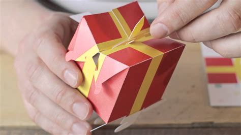 Homemade Christmas Decorations For The Home by Assemble Yourself 3d Pop Up Birthday Card Youtube