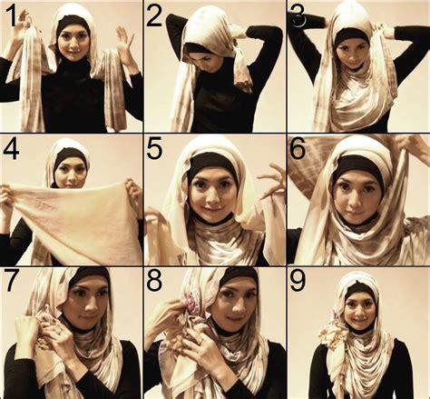 tutorial berhijab turban hijab tutorial sukasukasaia