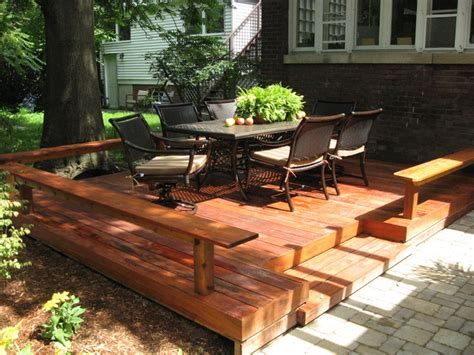 Patio Deck Cost by Broadview Deck