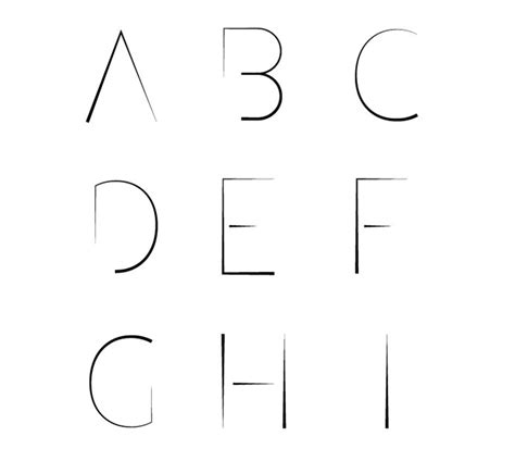 lettere vettoriali come creare un font con illustrator la guida definitiva