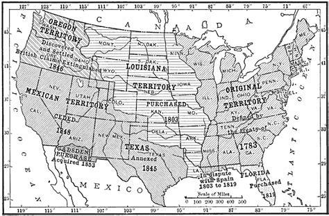 territorial acquisition map u s territorial acquisitions