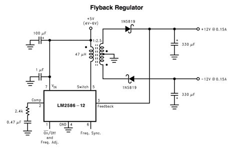 flyback transformer without diode standard transformer for higher voltage dual output flyback converter electrical engineering