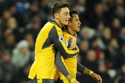 alexis sanchez life alexis sanchez and mesut ozil arsenal will have to do