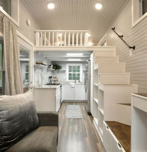 tiny house mobile home converted storage summer guest