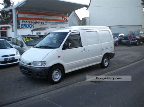 nissan vanette new model nissan vanette with towbar good condition t 220 v au new