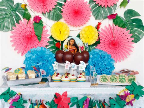 ideas for ideas for a moana themed birthday the crafting