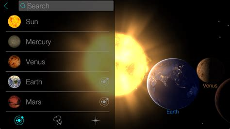 earth app for android free explore solar system way or whole galaxy with solar walk android android news