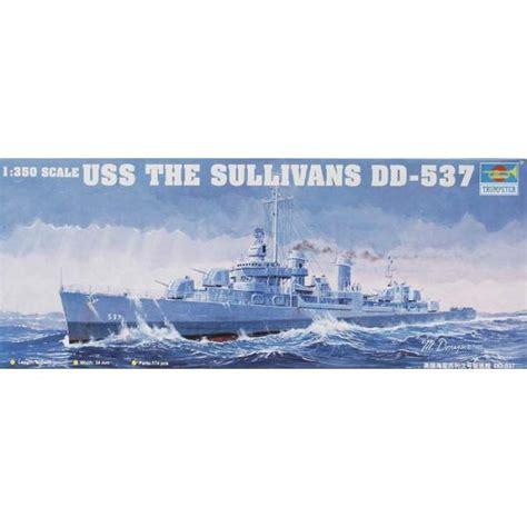 peinture bateau 2894 destroyer us dd 537 uss quot the sullivans quot maquette bateau