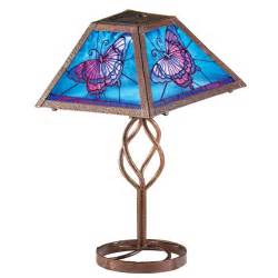 Outdoor Solar Table L Solar Butterfly Outdoor Table L Brown By Collections Etc Ebay