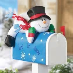 snowman decorations decorations 36 quot glittering thread cube