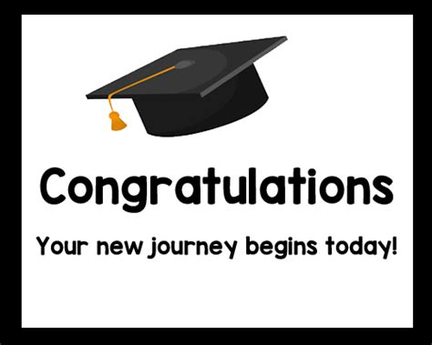 Wedding Quotes Journey Begins by Congrats Your New Journey Begins Free Graduation
