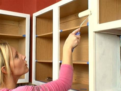do you paint the inside of cabinets how to paint kitchen cabinets diy