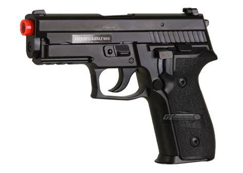 Airsoft Gun P229 Sig Sauer P229 Gbb Airsoft Gun By Cybergun Black