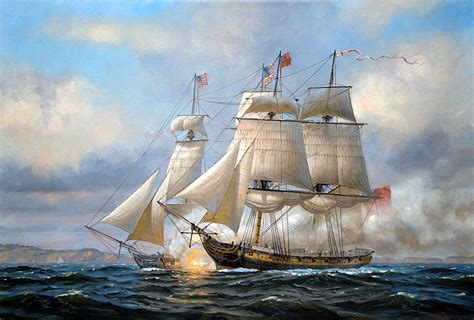 boat sinking fairfield ct war of 1812 paintings displayed in fairfield ct new