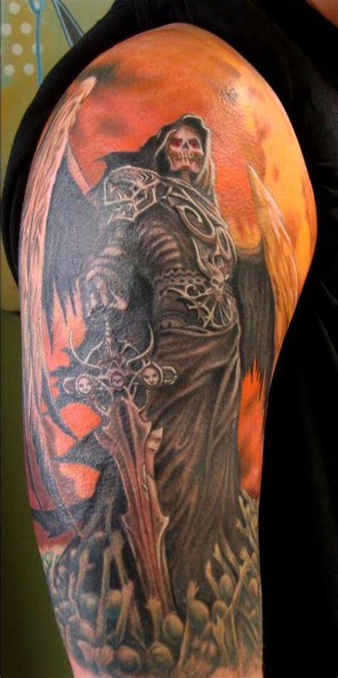tattoo reaper pictures outlaw tattoo tattoos skull reaper tattoo