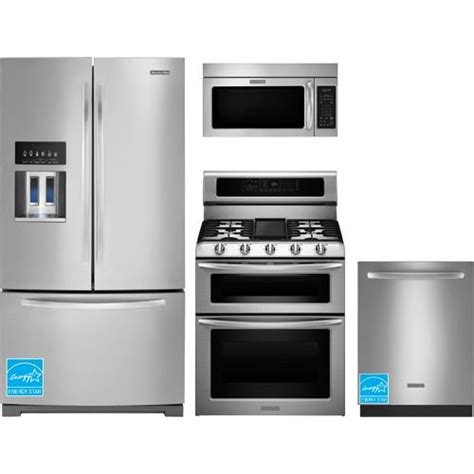 Complete Kitchen Appliance Packages | kitchenaid kfiv29pcms ss stainless steel complete kitchen
