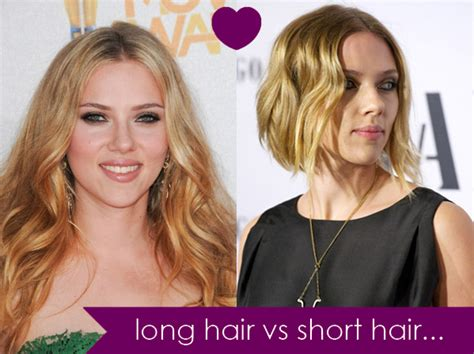 long hair vs medium hair is longer hair better looking than short hair compare