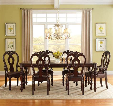 standard furniture dining room sets standard furniture westchester 7 dining room set in