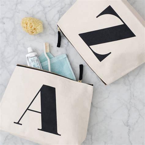 Initial Bag Free 6 Initial initial wash bag by alphabet bags notonthehighstreet