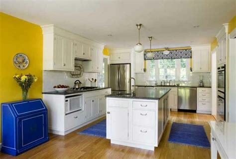 Blue Kitchen Decor Ideas How To Design A Yellow Blue Kitchen