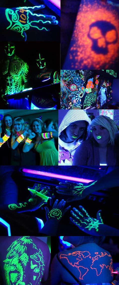 black light themes 120 best images about soir 233 e fluo on pinterest glow