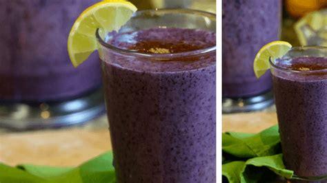 Blueberry Green Tea Detox Smoothie by Blueberry And Green Tea Smoothie Blueberries