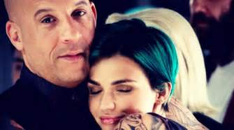 ruby rose gushes over co star vin diesel the