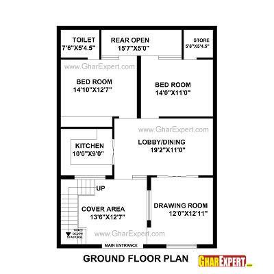 25by 50 plot size lay out plan house plan for 31 by 43 plot plot size 148 square yards house plan