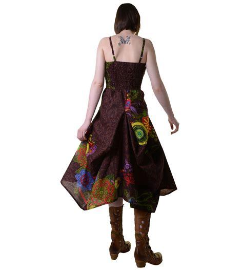Colorful Pattern Dress 30449 colorful goa summer dress with stylish flower pattern