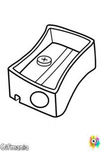 free coloring pages of pencil sharpener